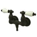 Elements of Design DT0315PL Wall Mount Clawfoot Tub Filler, Oil Rubbed Bronze