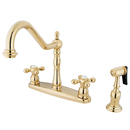 Elements of Design EB1752AXBS Two Handle 8
