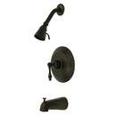 Elements of Design EB3635AL Single Handle Tub & Shower Faucet, Oil Rubbed Bronze