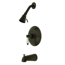Elements of Design EB3635PL Single Handle Tub & Shower Faucet, Oil Rubbed Bronze