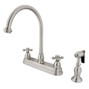 Elements of Design EB3758AXBS Two Handle 8