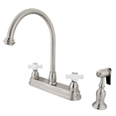 Elements of Design EB3758PXBS Two Handle 8