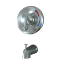 Elements of Design EB638TO Single Handle Tub Faucet, Satin Nickel