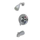 Elements of Design EB651 Single Handle Tub & Shower Faucet, Polished Chrome