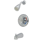 Elements of Design EB681T Trim Only for Single Handle Shower Faucet, Polished Chrome