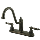 Elements of Design EB7115TLLS Double Handle 8
