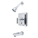 Elements of Design EB86510CML Single Handle Tub & Shower Faucet, Polished Chrome