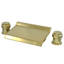 Elements of Design ES2242MR Waterfall Roman Tub Filler, Polished Brass