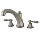 Elements of Design ES4328AL Two Handle Roman Tub Filler, Satin Nickel
