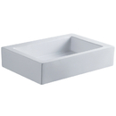 Kingston Brass EV4335 White China Vessel Bathroom Sink without Overflow Hole, White