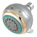 Elements of Design EX1658 Adjustable Fixed Shower Head, Satin Nickel Finish