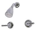 Kingston Brass KB241SO Two Handle Shower Faucet, Chrome