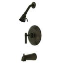 Kingston Brass KB2635ML Single Handle Tub & Shower Faucet, Oil Rubbed Bronze