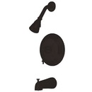 Kingston Brass KB2635TL Single Handle Tub & Shower Faucet, Oil Rubbed Bronze
