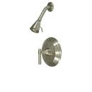 Kingston Brass KB2638MLSO Single Handle Shower Faucet, Satin Nickel