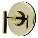 Kingston Brass KB3002DL Wall Volume Control Valve, Polished Brass