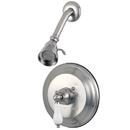 Kingston Brass KB3638PLSO Single Handle Shower Faucet, Satin Nickel