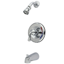 Kingston Brass KB631T Trim Only for Single Handle Tub & Shower Faucet, Chrome