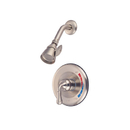 Kingston Brass KB638SO Single Handle Shower Faucet, Satin Nickel