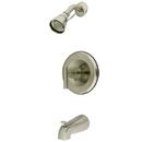 Kingston Brass KB6638CML Single Handle Shower Faucet, Satin Nickel