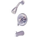 Kingston Brass KB691 Single Handle Tub & Shower Faucet, Chrome