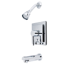 Kingston Brass KB86510DL Single Handle Tub & Shower Faucet, Chrome