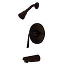 Kingston Brass KB86950ZL Single Handle Tub & Shower Faucet, Oil Rubbed Bronze