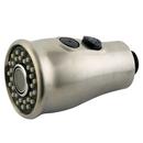 Kingston Brass KDH8818 Stream Flow & Full Spray 2-Function Pull-Down Sprayer, Satin Nickel