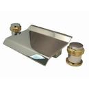 Kingston Brass KS2244MR Waterfall Roman Tub Filler, Chrome/Polished Brass