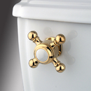 Kingston Brass KTBX2 Toilet Tank Lever, Polished Brass