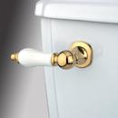 Kingston Brass KTPL2 Toilet Tank Lever, Polished Brass