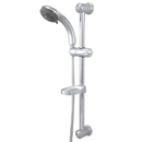 Kingston Brass KX2528SBB 5 Setting Hand Shower with Slide Bar Kit & Stainless Steel Hose, Chrome