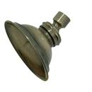 Kingston Brass P10AB Brass Shower Head, Antique Brass