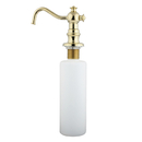 Kingston Brass SD7602 Decorative Soap Dispenser, Polished Brass