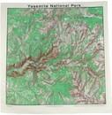 THE PRINTED IMAGE 518 Yosemite Topo Bandana