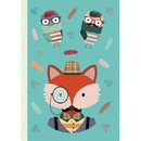 NATIONAL BOOK NETWRK Notebook Hipster Animal Fox, 104537