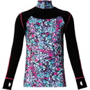 Performance Girl Zip Top Pur M