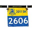 NATHAN 283445 Nathan Race Number Belt Black