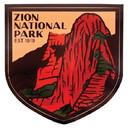 Sendero Provisions ZION STICKER Sendero Provisions Zion Natl Park Sticker