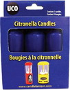 Citronella Candles 3 Pk