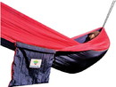 Hammock Bliss Single Navy/Red
