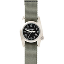 Bertucci 460232 M-1 Black Dial/Drab Band
