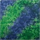 Bandana Tie Dye Blu/Grn W/Upc