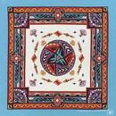 CAROLINA MANUF B22SOU-000139 Modern Aztec W/Turquoise Trim