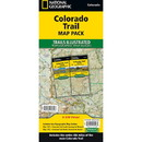 National Geographic TI01021196B Colorado Trail Map Pack