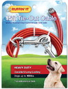 15' Hd Cable Tie-Out Red