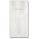Hoffmaster 066033 815-QSW-LL, White Quickset Dinner Napkin, Linen-Like , 1/8 fold