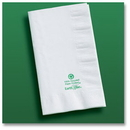Hoffmaster 084250 315-W Earth Wise Dinner Napkin, 2 ply, 1/8 fold, recycled