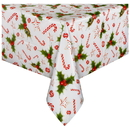 Hoffmaster 221144 Printed Plastic Folded Tablecovers, 54
