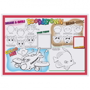 Hoffmaster Kids' Activity Placemats, 10